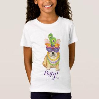 Mardi Gras Frenchie T-Shirt