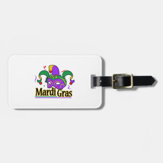 MARDI GRAS FULL CHEST TAG FOR BAGS