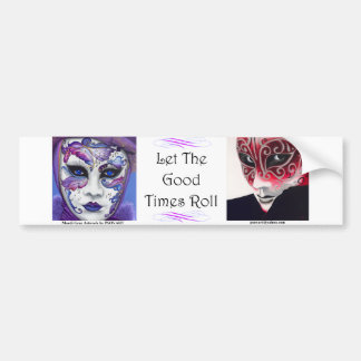 Mardi Gras - Good Times Bumper Sticker