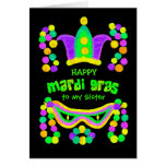 Mardi Gras Greeting Card to Personalise