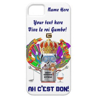 Mardi Gras Gumbo King View Hints please iPhone SE/5/5s Case