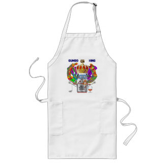 Mardi Gras Gumbo King View Hints please Long Apron