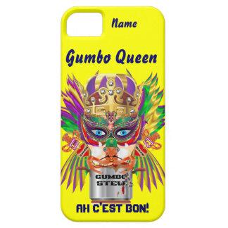 Mardi Gras Gumbo Queen View Hints please iPhone 5 Covers