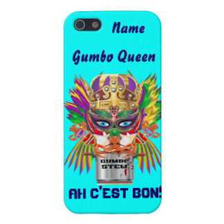 Mardi Gras Gumbo Queen View Hints please Cover For iPhone SE/5/5s