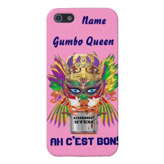 Mardi Gras Gumbo Queen View Hints please Case For iPhone 5