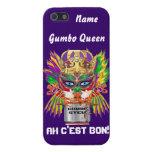 Mardi Gras Gumbo Queen View Hints please iPhone 5 Cases