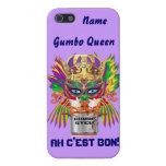 Mardi Gras Gumbo Queen View Hints please iPhone 5 Case