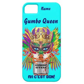 Mardi Gras Gumbo Queen View Hints please iPhone SE/5/5s Case
