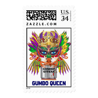 Mardi Gras Gumbo Queen View Hints please Postage