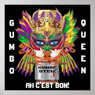 Mardi Gras Gumbo Queen View Hints please Print
