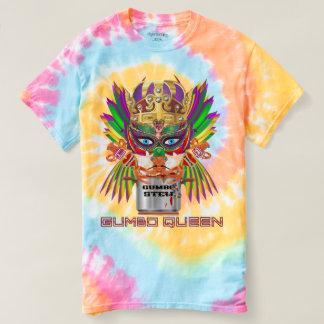 Mardi Gras Gumbo Queen view notes below T-shirt