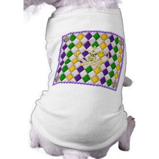 Mardi Gras Harlequin Patterned Dog Clothing