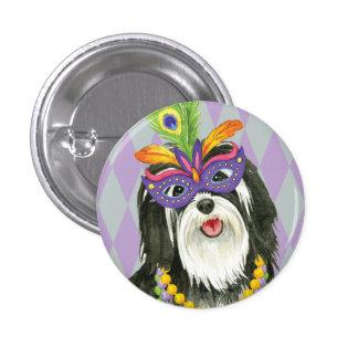 Mardi Gras Havanese Button
