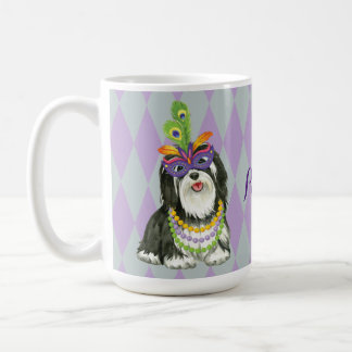 Mardi Gras Havanese Coffee Mug