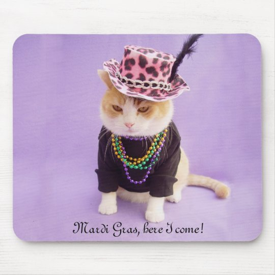 Mardi Gras, here I come! Mouse Pad