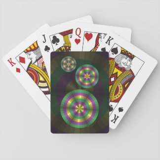 Mardi Gras Illusion Classic Playing Cards