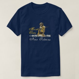 Mardi Gras In New Orleans T-Shirt