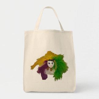 Mardi Gras Indian Mask Bag