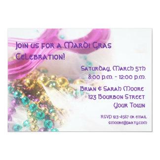 Mardi Gras Invitation