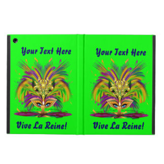 Mardi Gras iPad Air, Mini and 2/3/4 View About iPad Air Covers