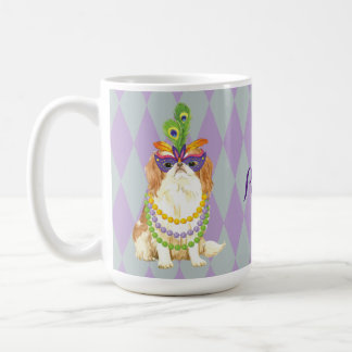 Mardi Gras Japanese Chin Coffee Mug