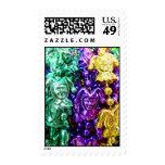 Mardi Gras Jester Bead 1st Class Stamp