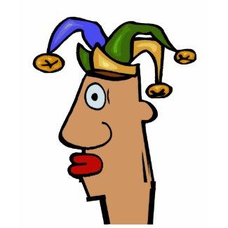 Mardi Gras Jester Head shirt