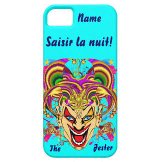 Mardi Gras Jester Important View Hints please iPhone 5 Cover
