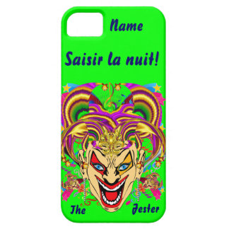 Mardi Gras Jester Important View Hints please iPhone 5 Cases