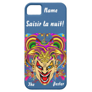 Mardi Gras Jester Important View Hints please iPhone 5 Case