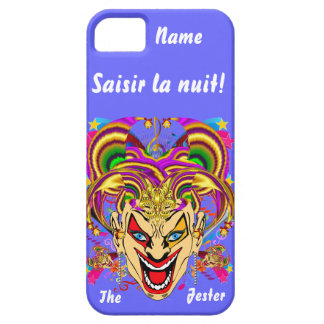 Mardi Gras Jester Important View Hints please iPhone 5 Covers