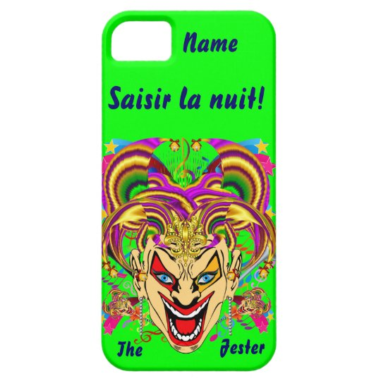Mardi Gras Jester Important View Hints please iPhone SE/5/5s Case