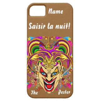 Mardi Gras Jester Important View Hints please iPhone SE/5/5s Case
