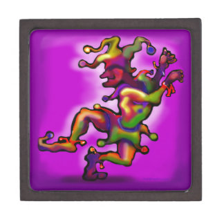 Mardi Gras Jester Premium Gift Box