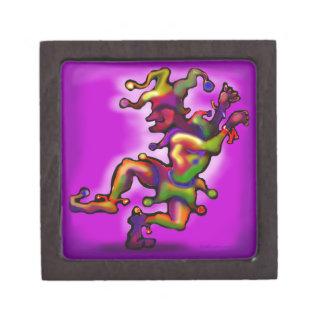 Mardi Gras Jester Premium Gift Boxes