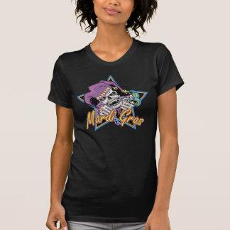 Mardi Gras Jester Skull T-Shirt