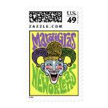 Mardi Gras Jester Stamp