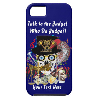 Mardi Gras Judge 2 Customize Resize if Needed Cover For iPhone 5/5S