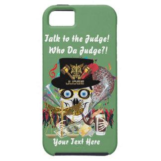 Mardi Gras Judge 2 Customize Resize if Needed iPhone 5 Cases