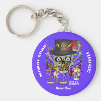Mardi Gras Judge 30 colors view notes Important Keychains