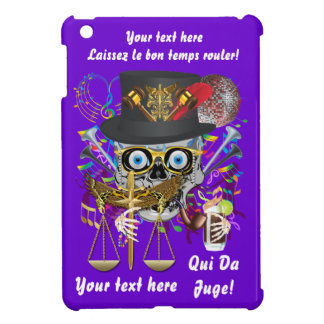 Mardi Gras Judge Important Instructions view notes Case For The iPad Mini