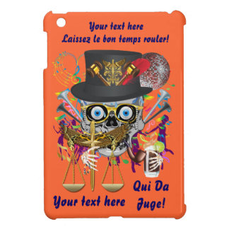 Mardi Gras Judge Important Instructions view notes Cover For The iPad Mini