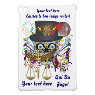 Mardi Gras Judge Important Instructions view notes iPad Mini Case