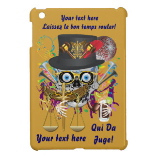Mardi Gras Judge Important Instructions view notes iPad Mini Cases