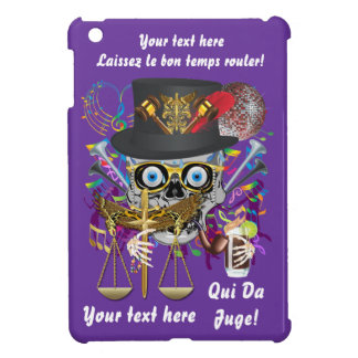 Mardi Gras Judge Important Instructions view notes iPad Mini Covers