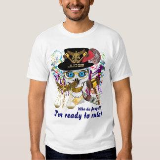 Mardi Gras Judge Men All Styles Light only Shirt