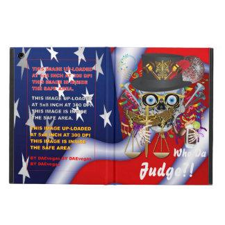 Mardi Gras  Judge V1 iPad Air Covers