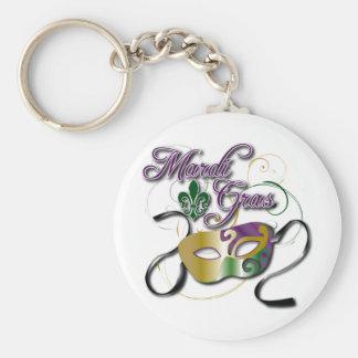 Mardi Gras Key Chain