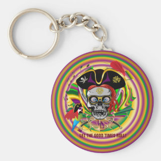 Mardi-Gras Key Chains