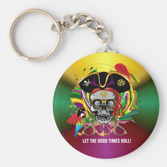 Mardi-Gras Keychain